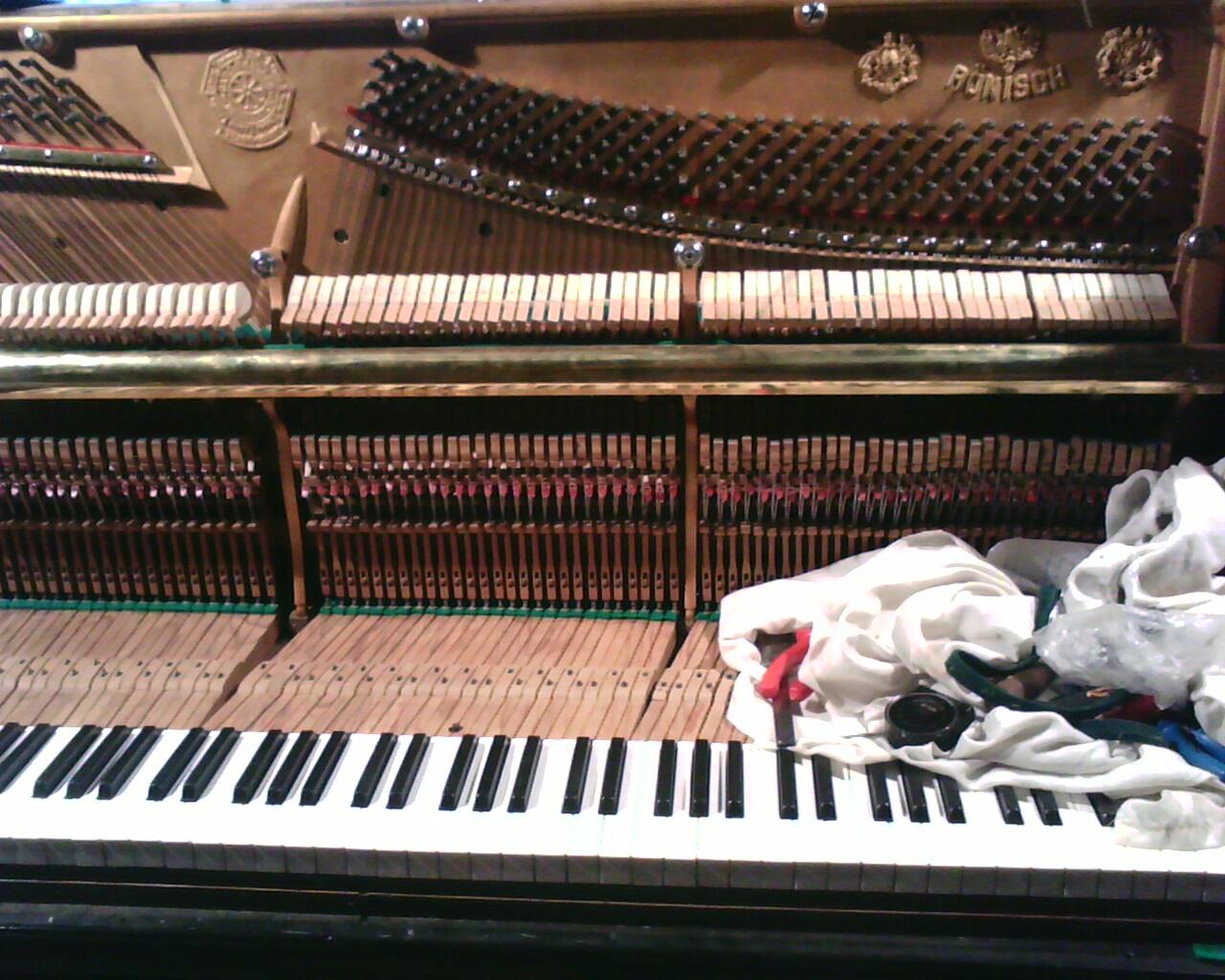 Основные принципы настройки пианино